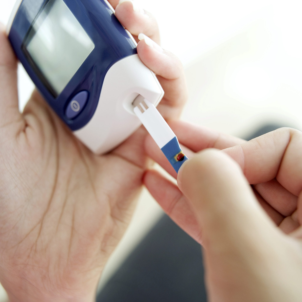 Glaucometer for Measuring Blood Sugar